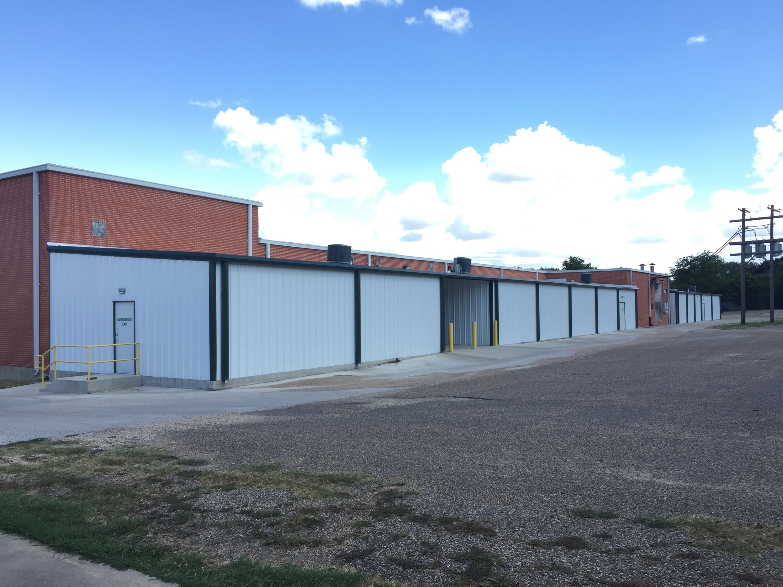 Ideal Self Storage Climate Controlled Storage  Expansion in Waco, TX. Completed October 2014