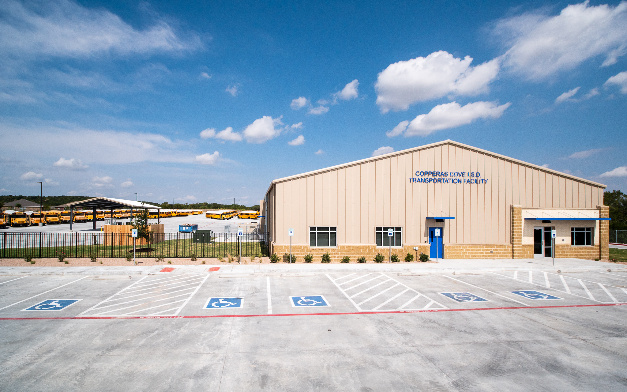 Copperas cove isd transportation facility  July 2018