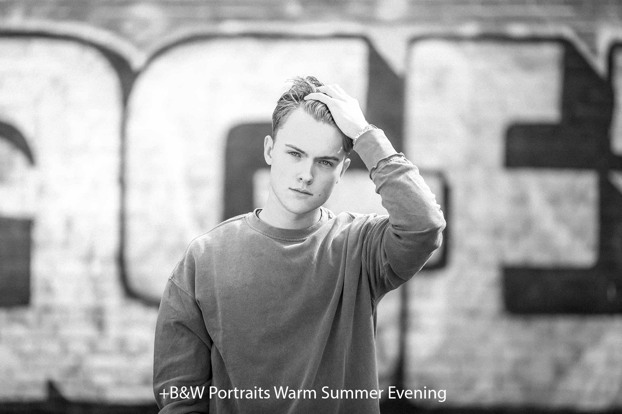 BW Portraits Warm Summer Evening.jpg