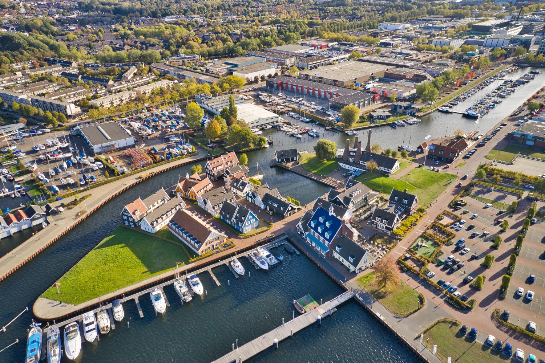 Haven van Huizen / Hotel Fletcher / Kalkovens / Botterwerf / Huizen