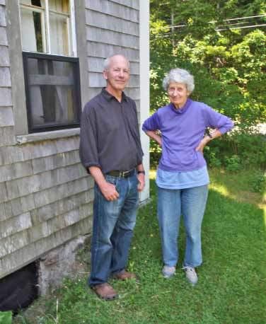 Jeff Epstein with Lois Dodd, Cushing, ME, 2011