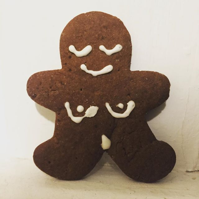 Time to get your naked Gingerbread on! Happy Holidays!