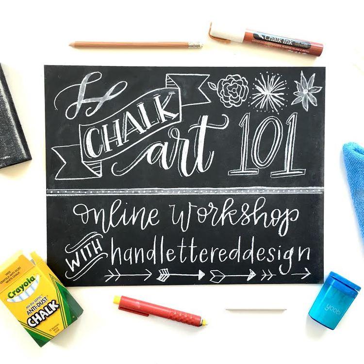 Photo courtesy of  Hand Lettered Design