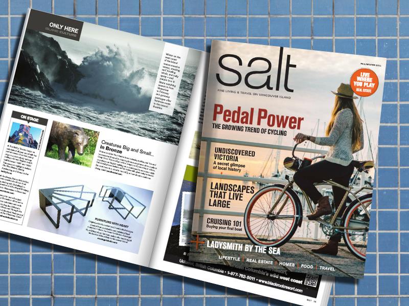 Salt Magazine, furniture with heart- Arostegui Studio