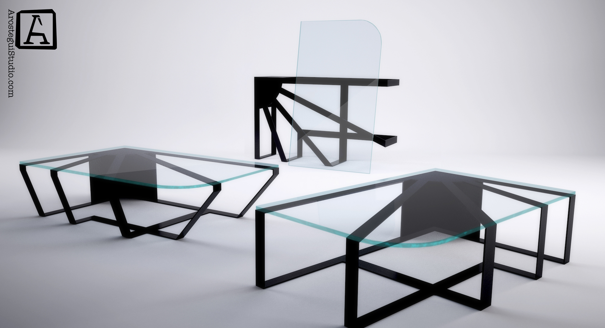 Solero coffee table- ©2017 Arostegui Studio