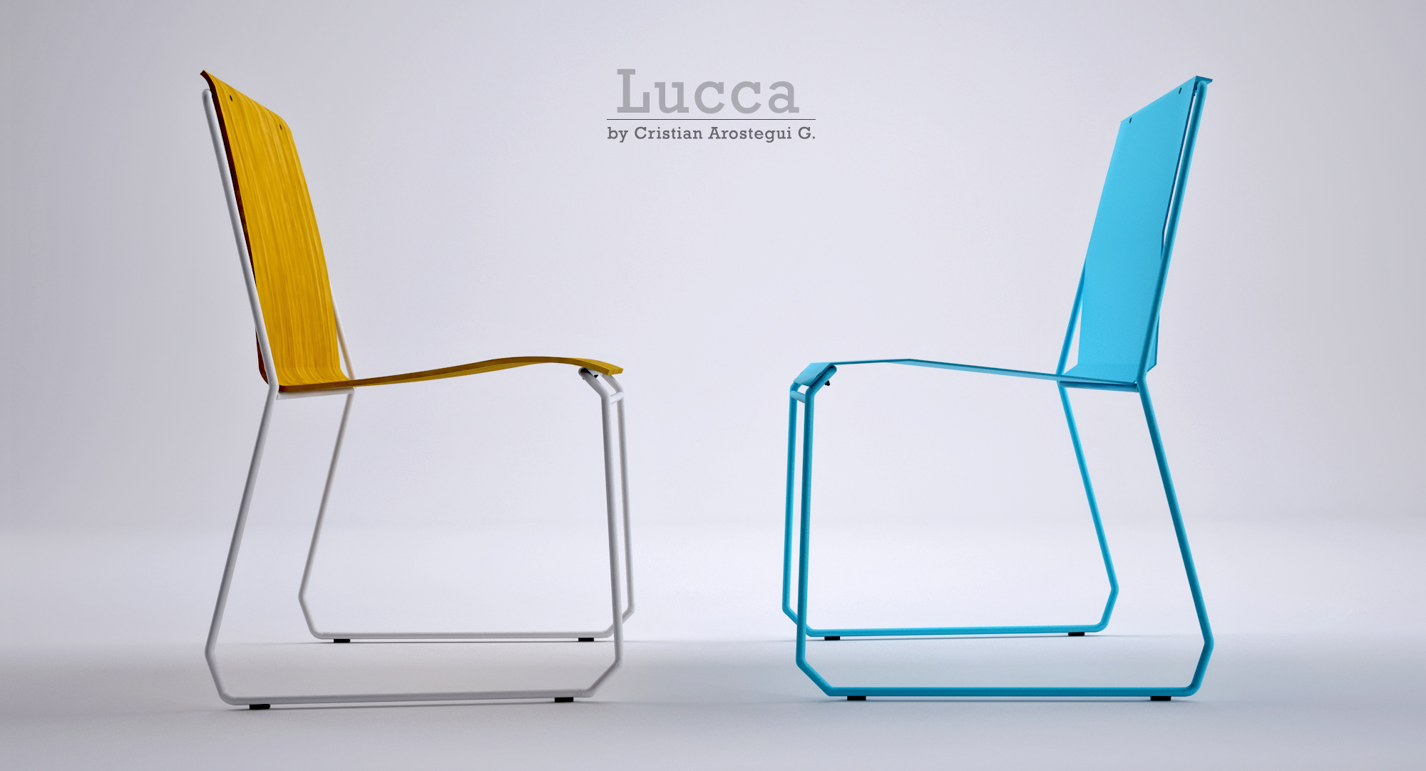Lucca chair by Cristian Arostegui from Arostegui Studio