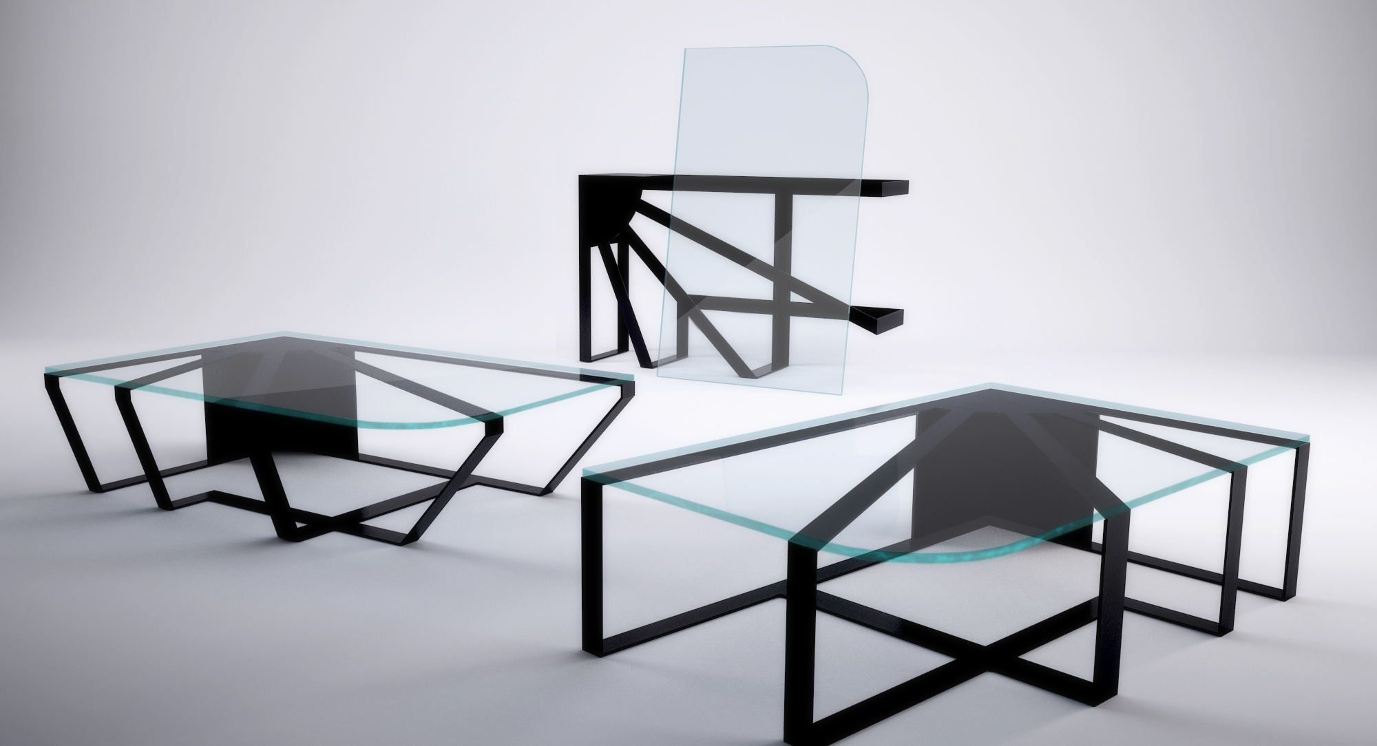 Solero coffee table by Cristian Arostegui from Arostegui Studio