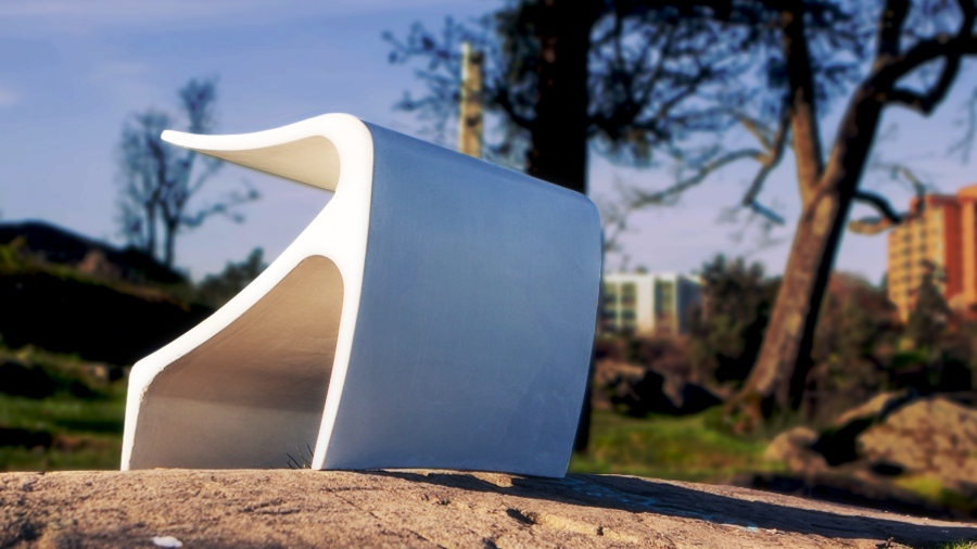 The Sofi bench by Cristian Arostegui from Arostegui Studio