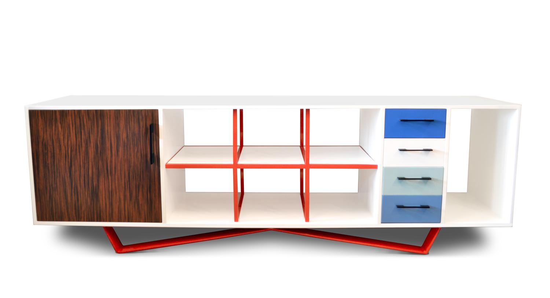 W credenza - Shelves & Storage