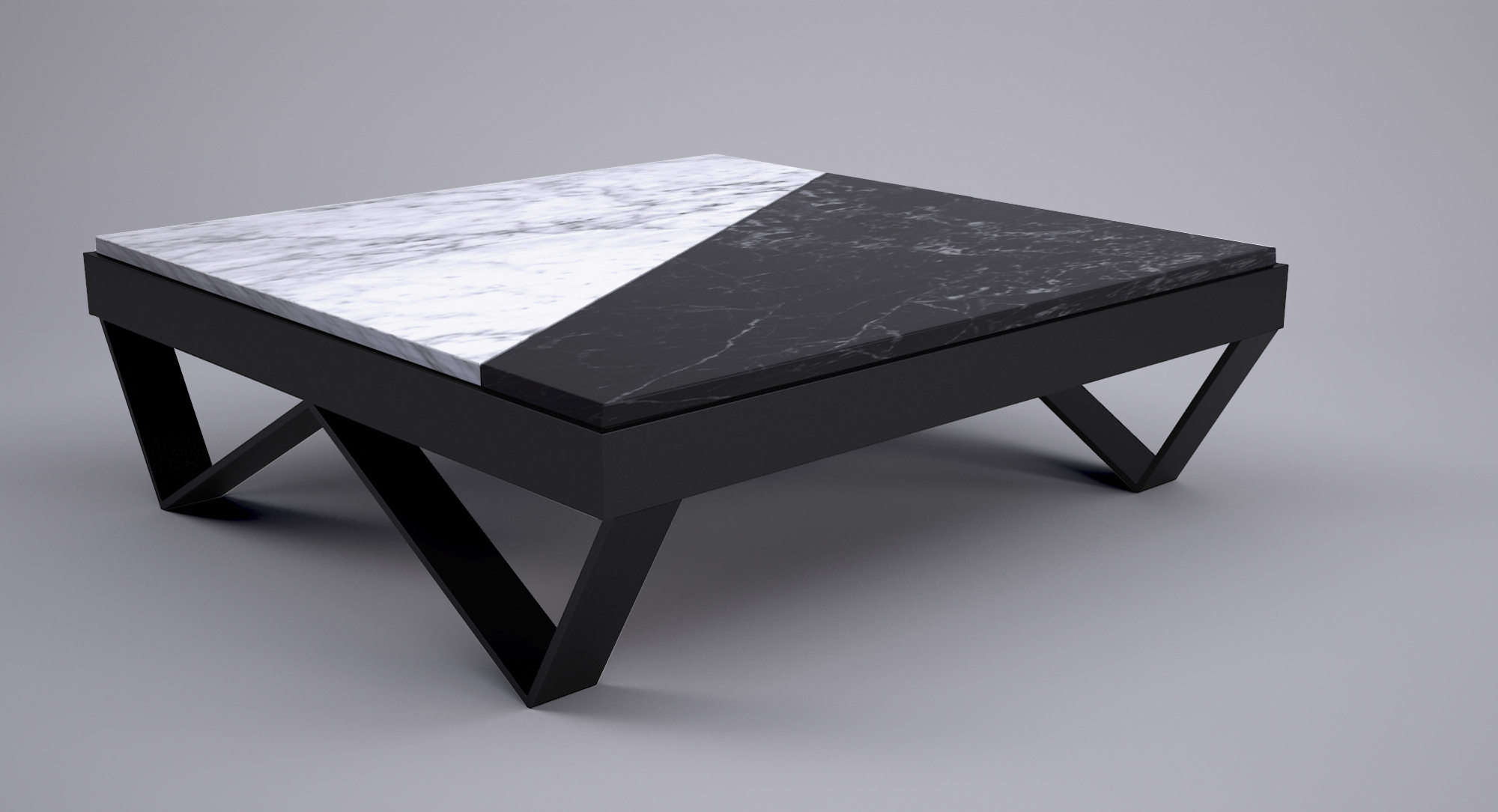 W coffee table - Tables