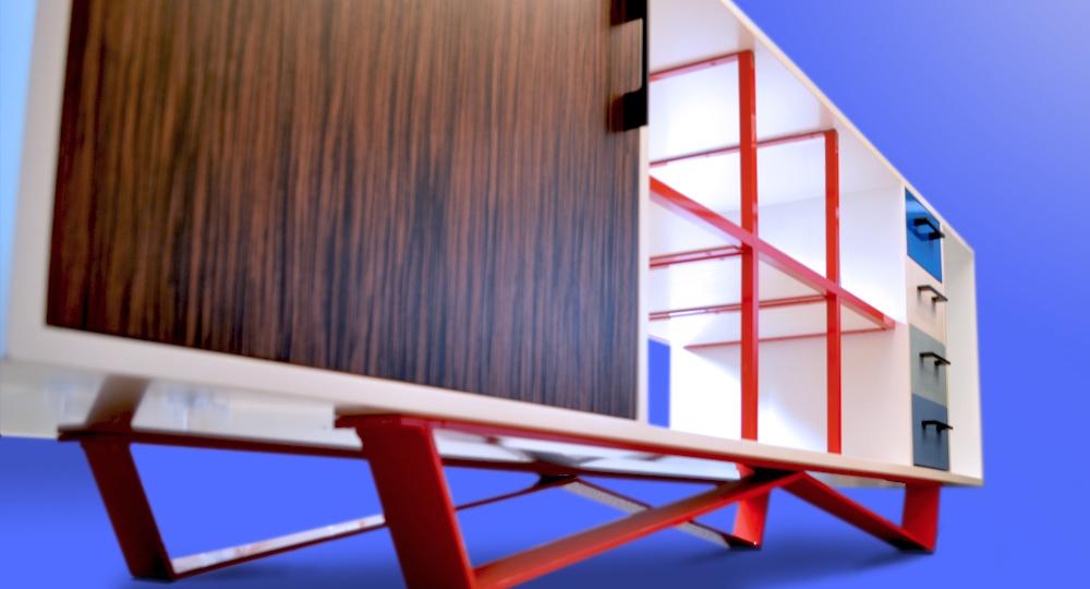 W credenza/sideboard - Shelves & Storage