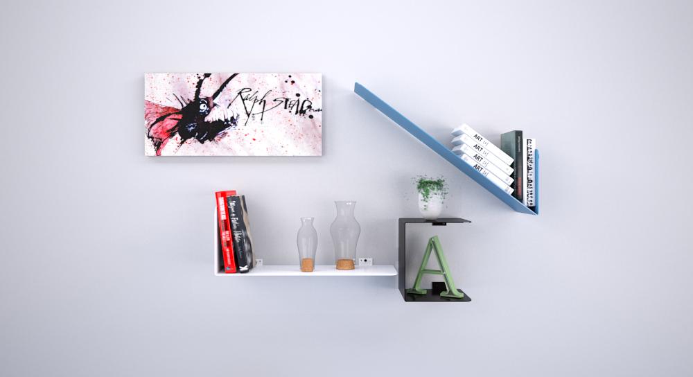 Ttris Shelves- ©2018 Arostegui Studio