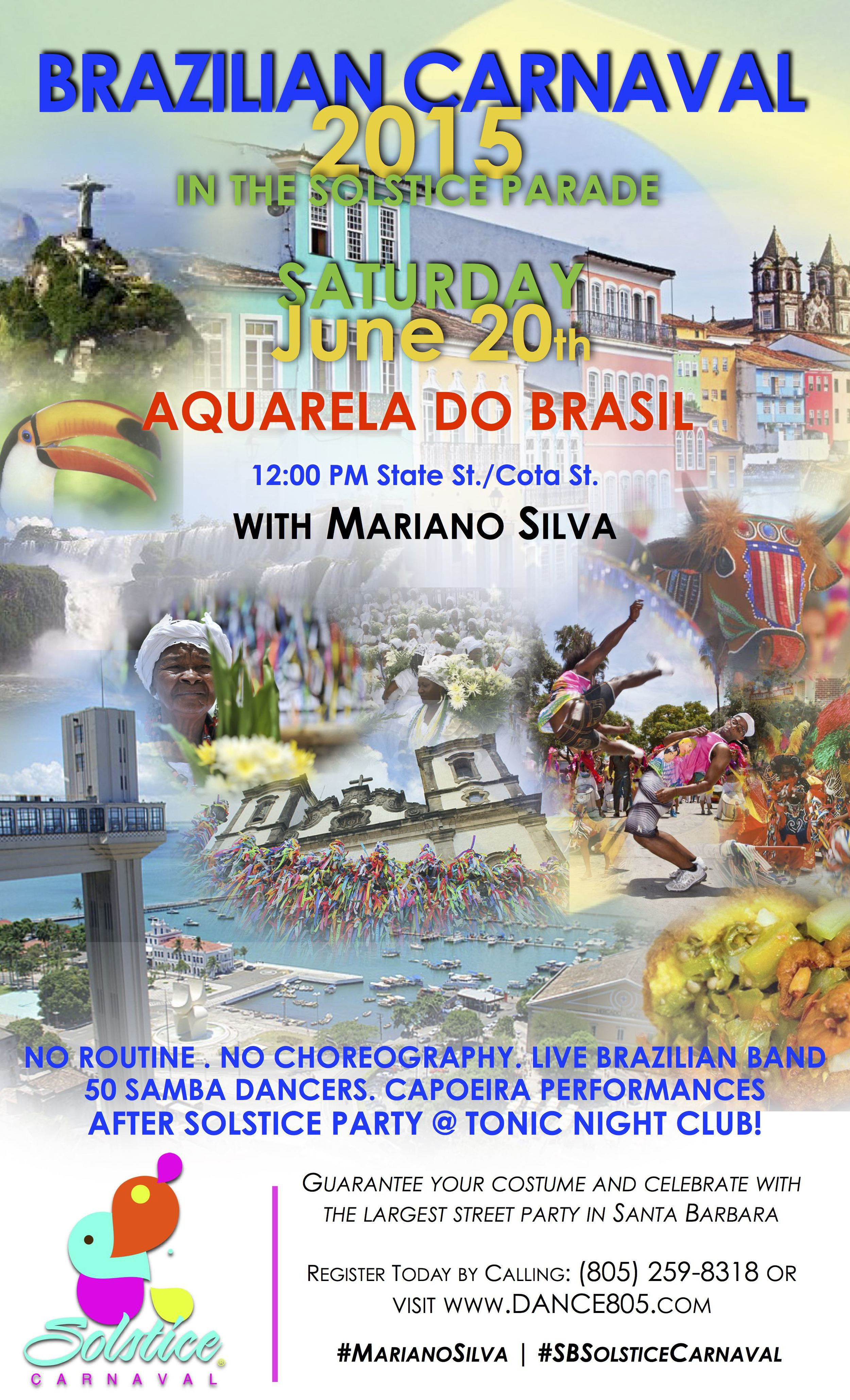2015 Solstice Carnaval with Mariano Silva