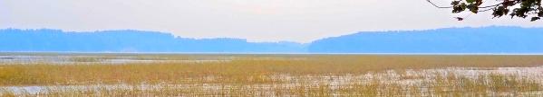 Looking east over Merrymeeting Bay