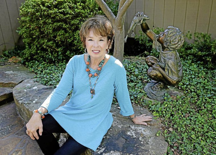 """Rosalind Cook with """"Finders Keepers"""" Photo: MIKE SIMONS/ Tulsa World"""