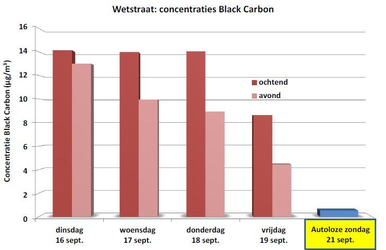 Black Carbon is een polluent die ontstaat tijdens het verbrandingsproces. Hij maakt deel uit van de groep zeer fijne polluenten (diameter kleiner dan 0,5 micron) en vertegenwoordigt 10 tot 20% van de massa van de PM10-deeltjes. In Brussel wordt Black Carbon hoofdzakelijk uitgestoten door het wegverkeer (vooral het roet van dieselmotoren) en de verwarming (stookolie en hout).