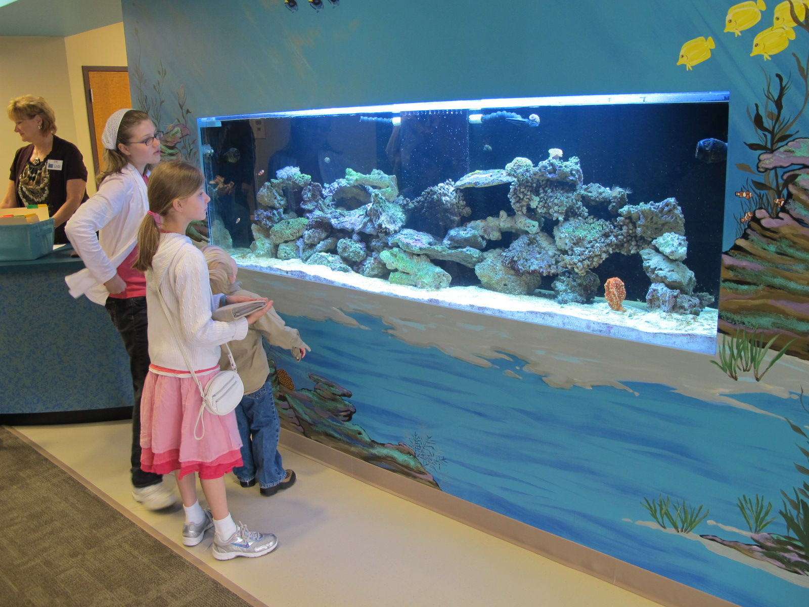 grace community chapel church aquarium.JPG
