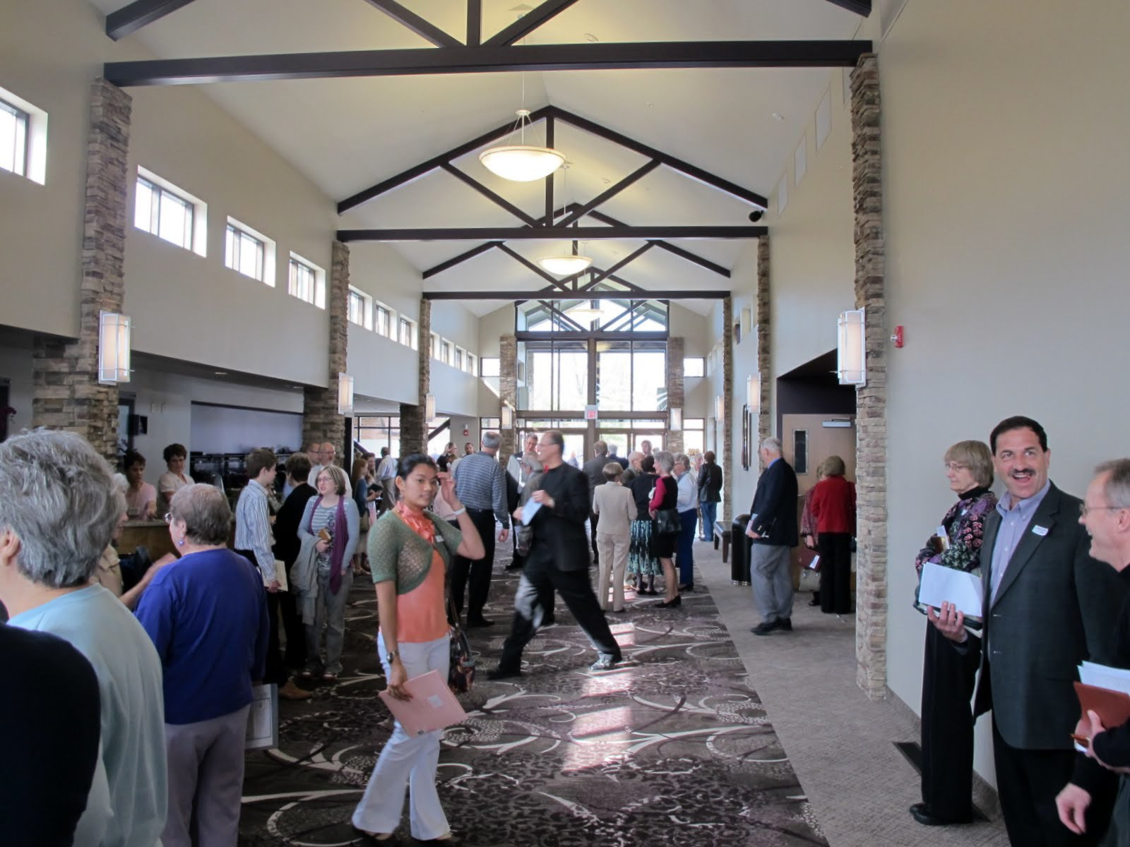 grace community chapel church concourse.JPG