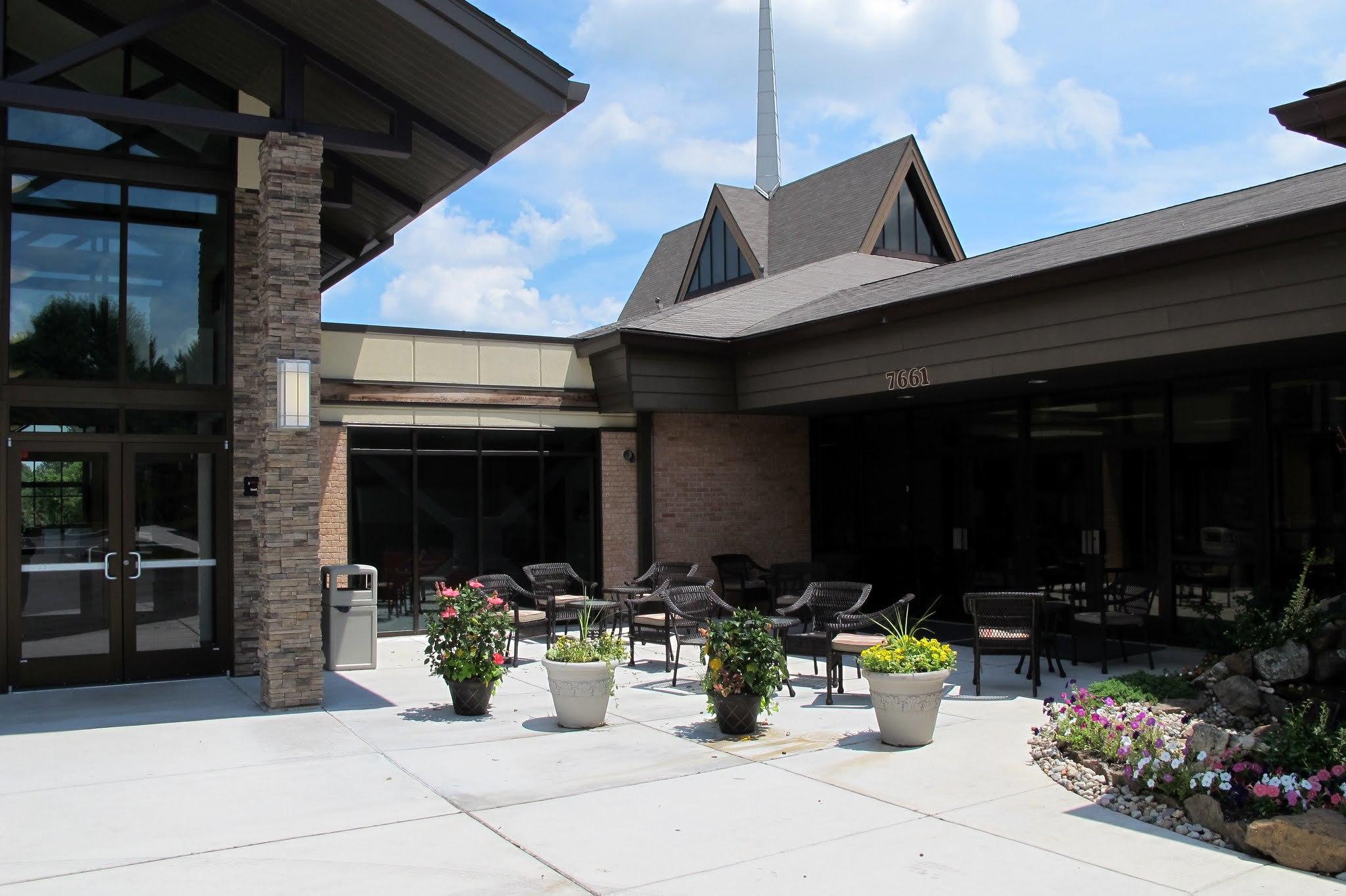 grace community chapel church outdoor cafe.JPG
