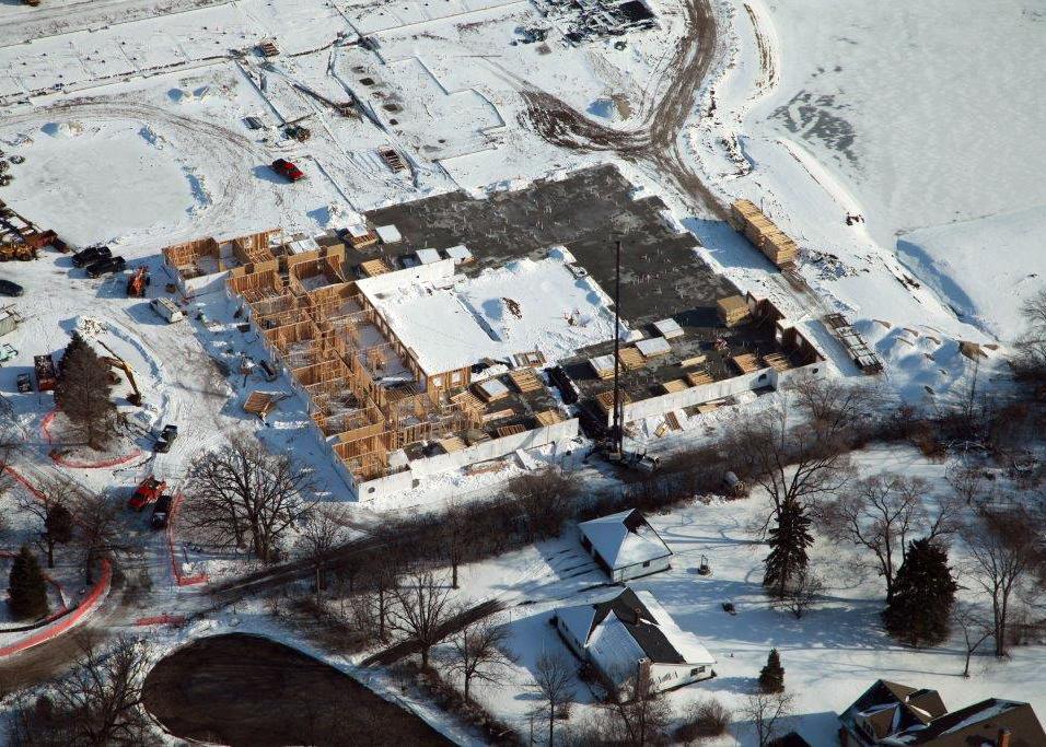 January 2016 | Green Oaks begins construction