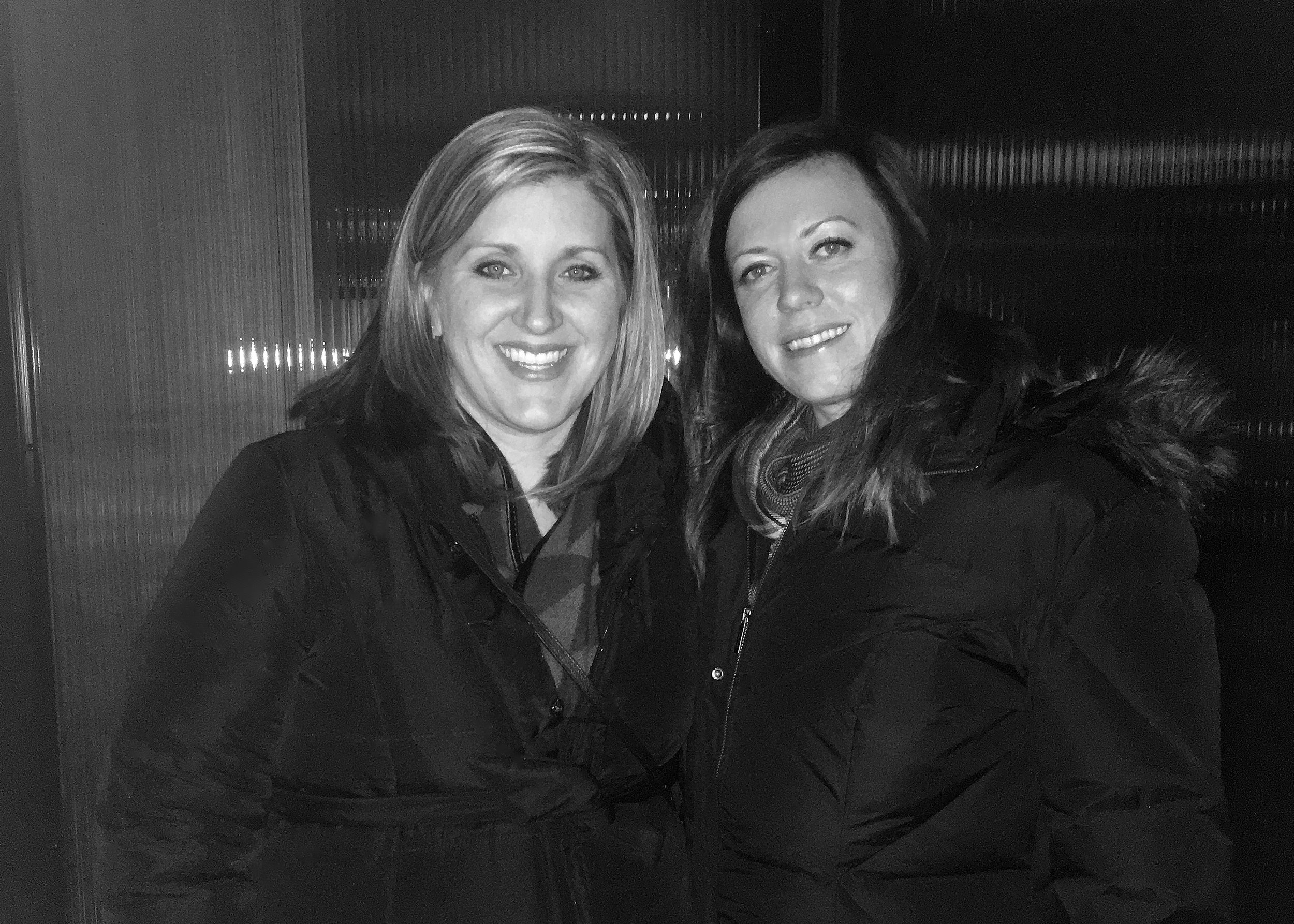 Callia Ball (Lighting Associates) and Lindsay head into Focal Point for a behind-the-scenes lighting tour!