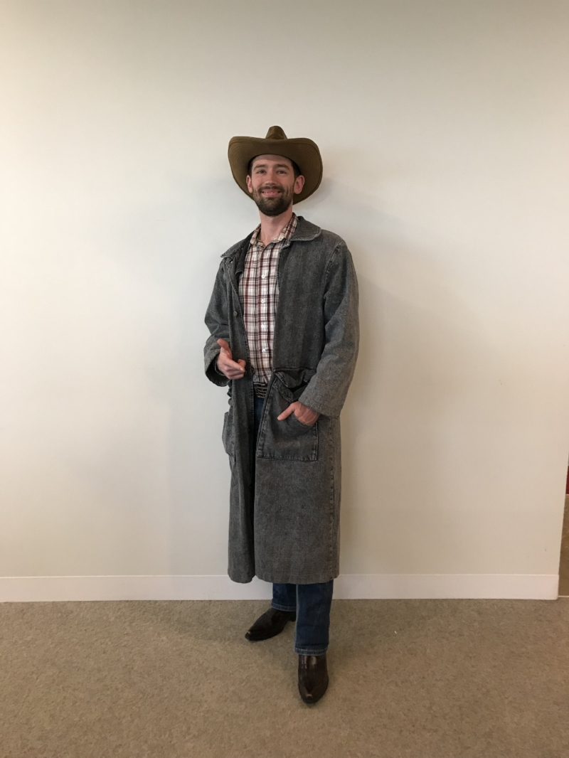 Mick as the Clint Eastwood Cowboy
