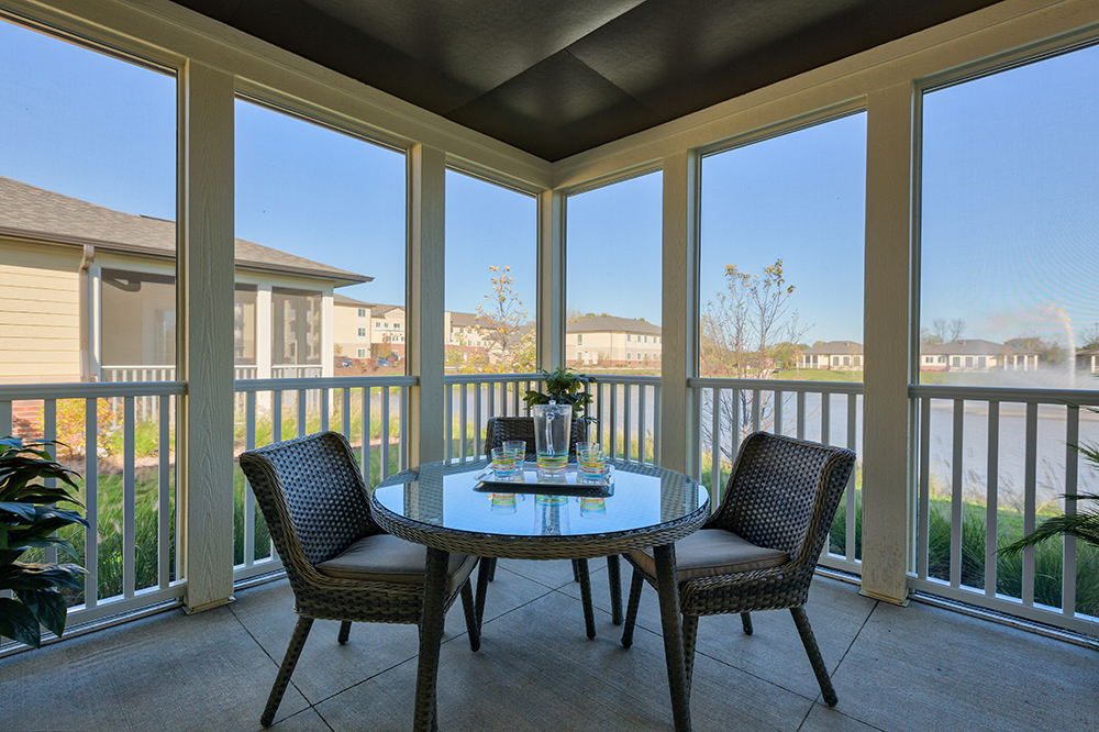 Green Oaks Independent Living, Assisted Living & Memory Care Screened In Porch.jpg