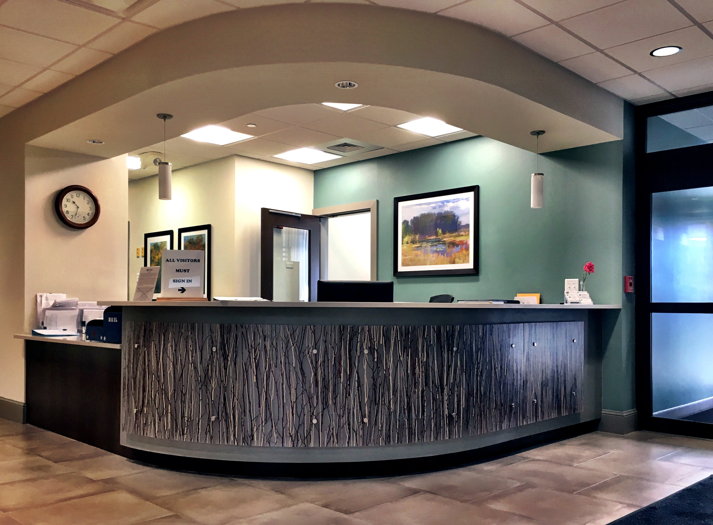 Gambrill Gardens Reception Area.JPG