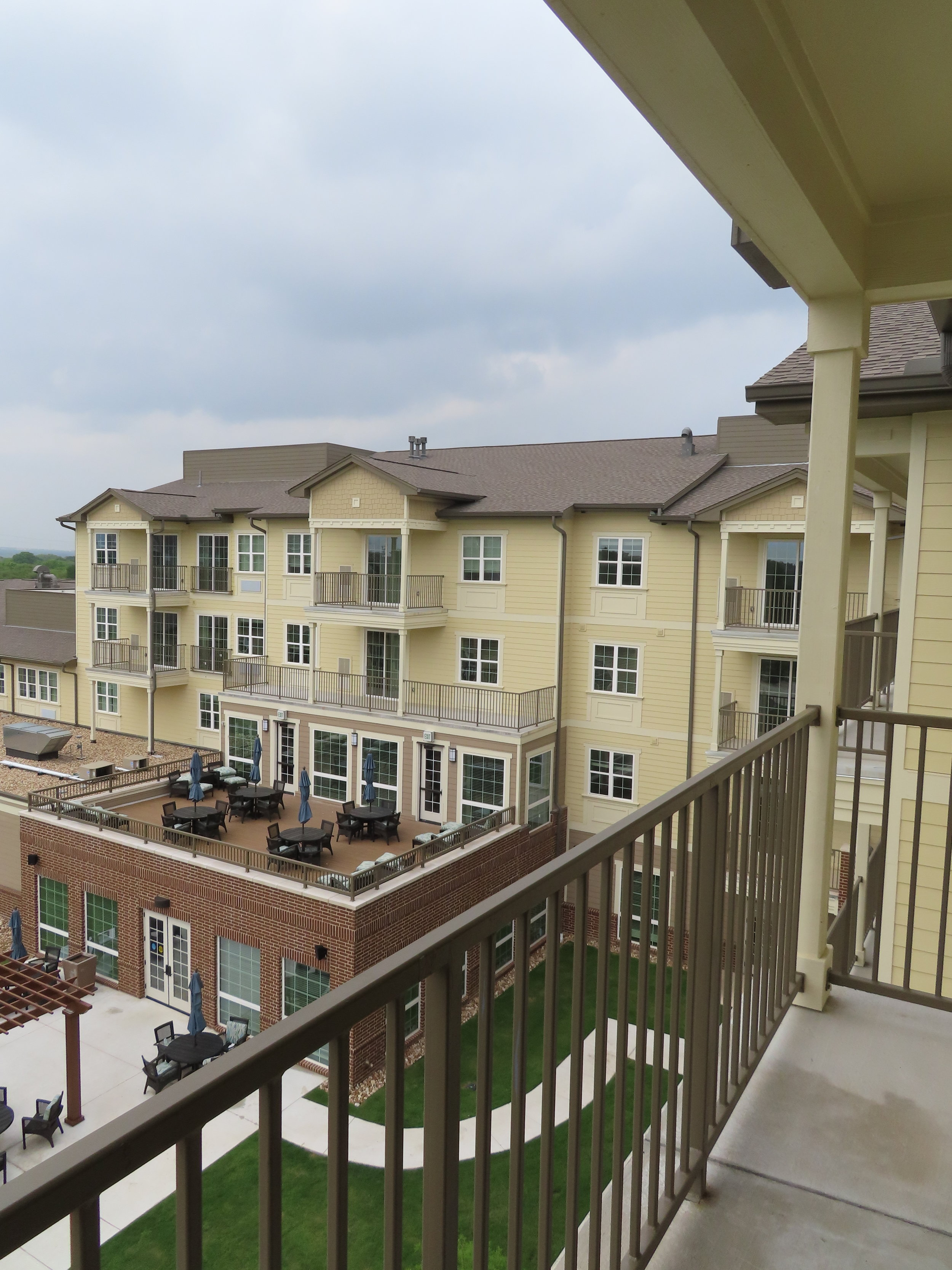 Cedar Park Independent Living, Assisted Living & Memory Care Balcony 2.JPG