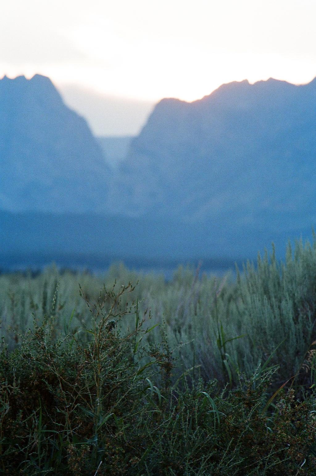 mountains tetons nature