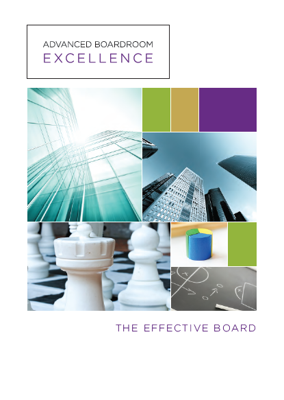 The Effective Board Research Report