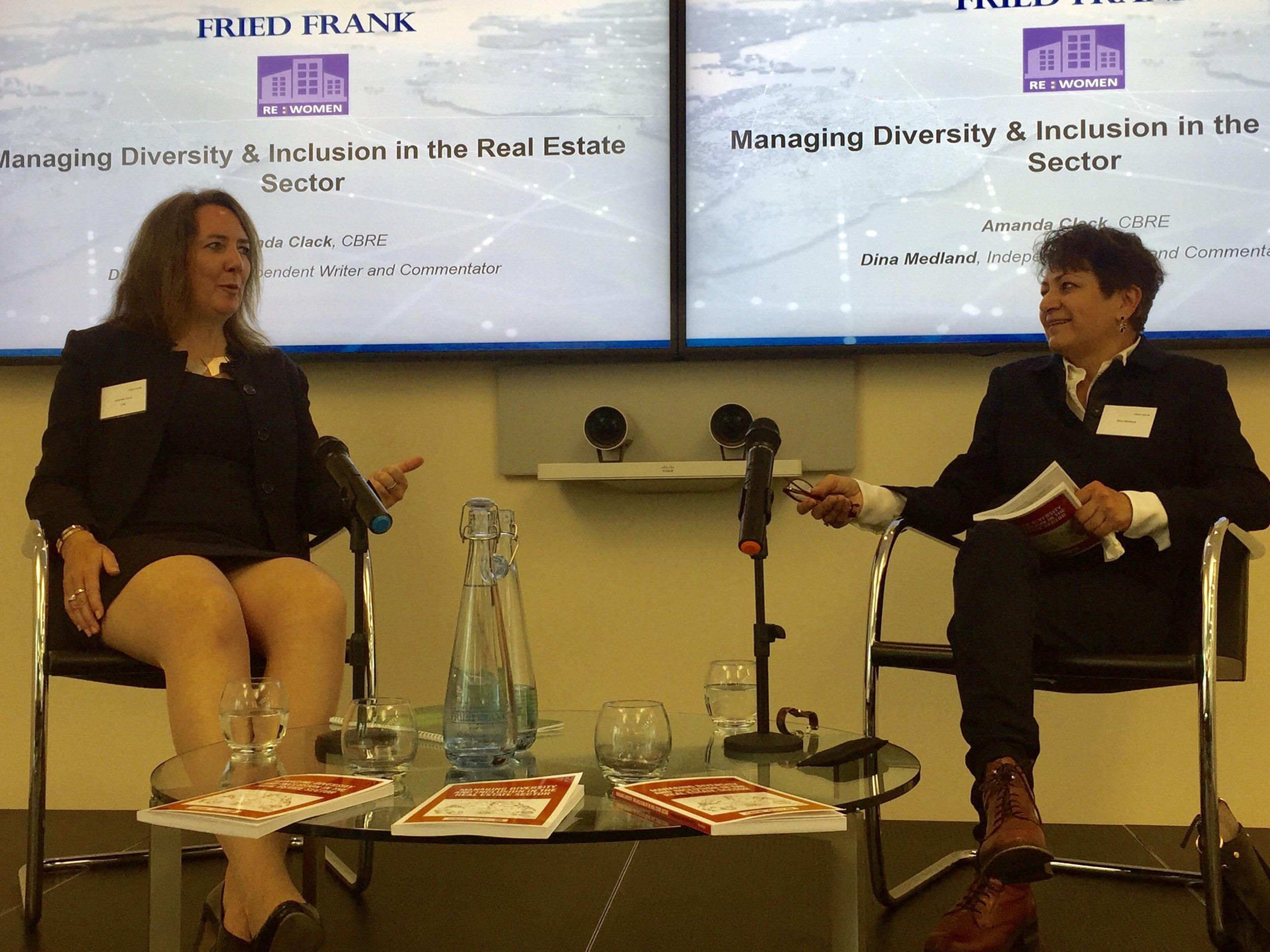 CBRE UK 'in conversation' event