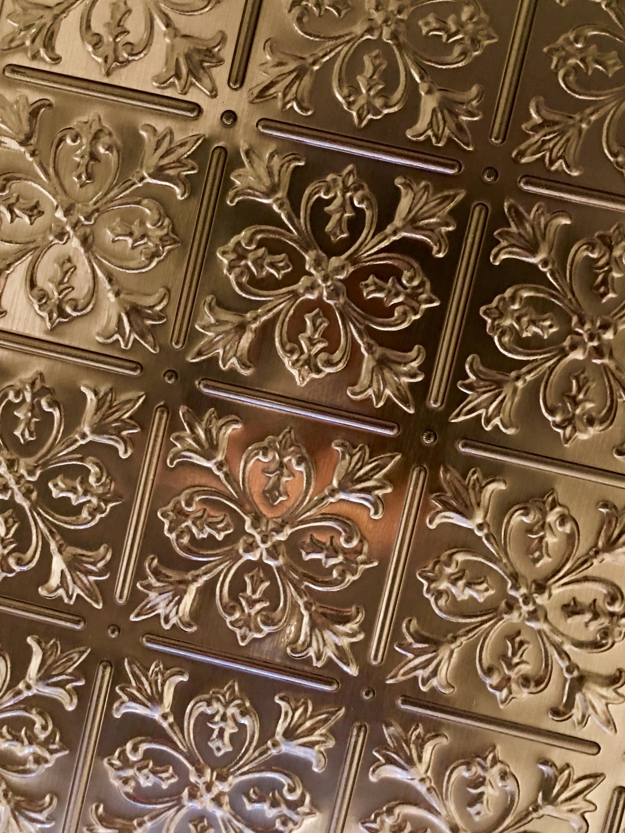 San Francisco dental office patterned cieling tiles