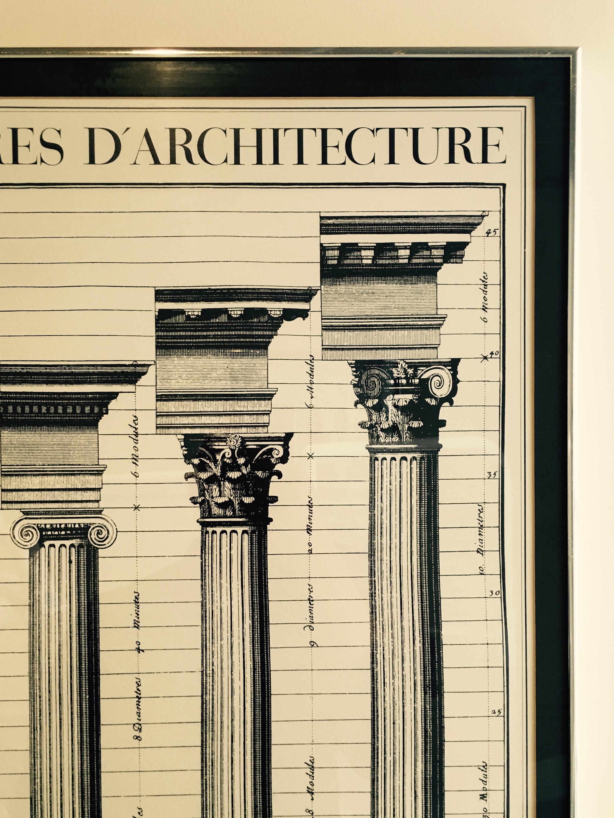San Francisco dental office architectural wall art