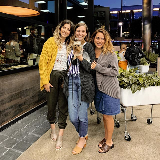 I got to spend the day with two of my besties thrift shopping and eating an obnoxiously healthy dinner. There were so many laughs along the way too which did my heart some good. Love you both @faithbalogh and @elizabethjoyceee and thanks for the 📸 @rickybolander  #bestfriendreunion #reunitedanditfeelssogood #girlsweekend #somuchfuntogether #rideordies #girlgang #mysquad #yorkiesofig #yorkiesofinstagram #santamonica #truefoodkitchen #muchneeded #traumarecovery #mybesties #reunionweekend