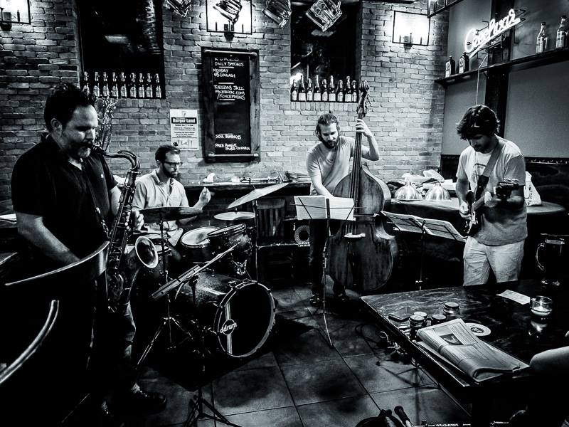 Jeff Davis Quartet - 9/2014