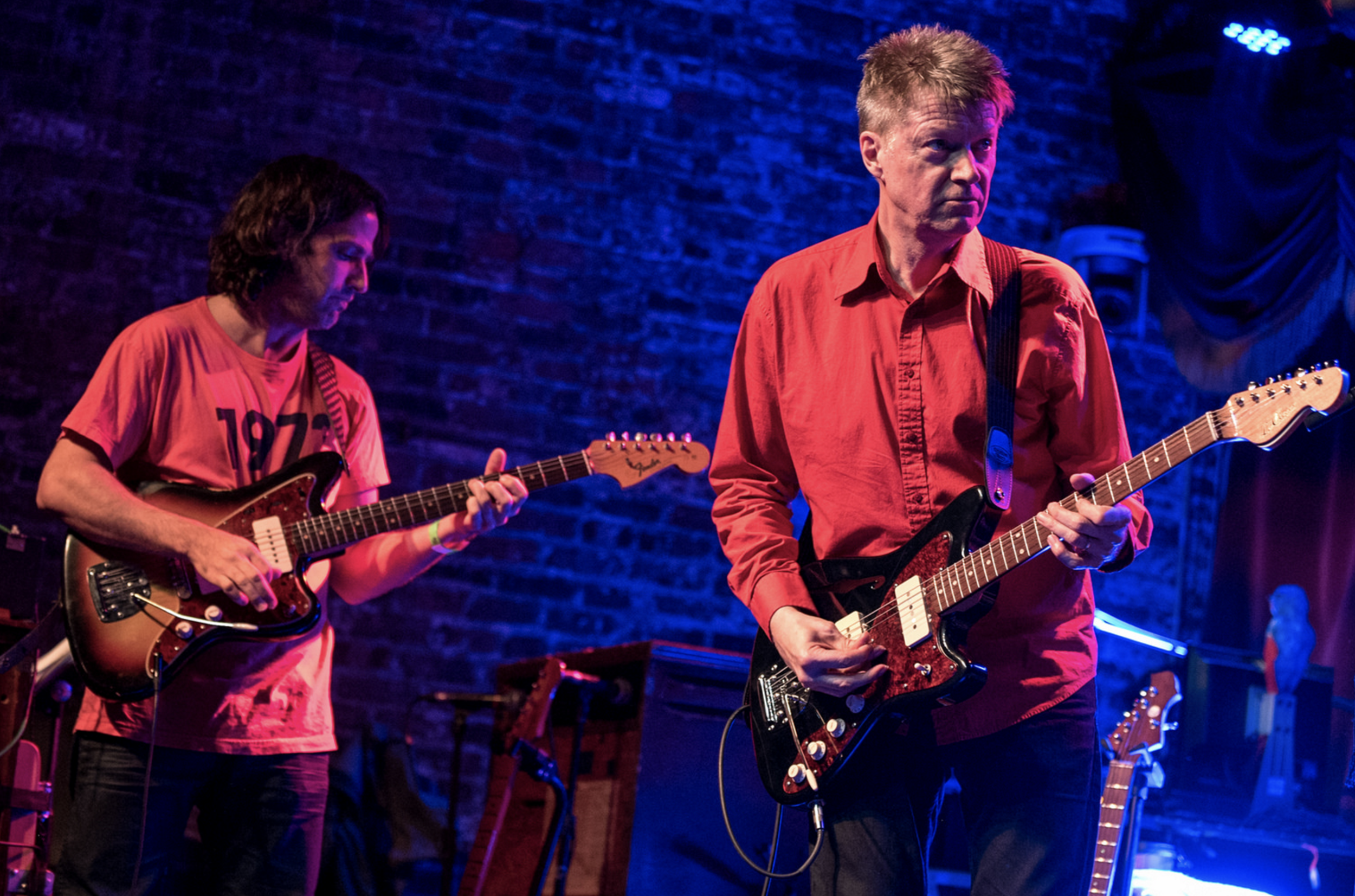 With Nels Cline. NYC 5/2017