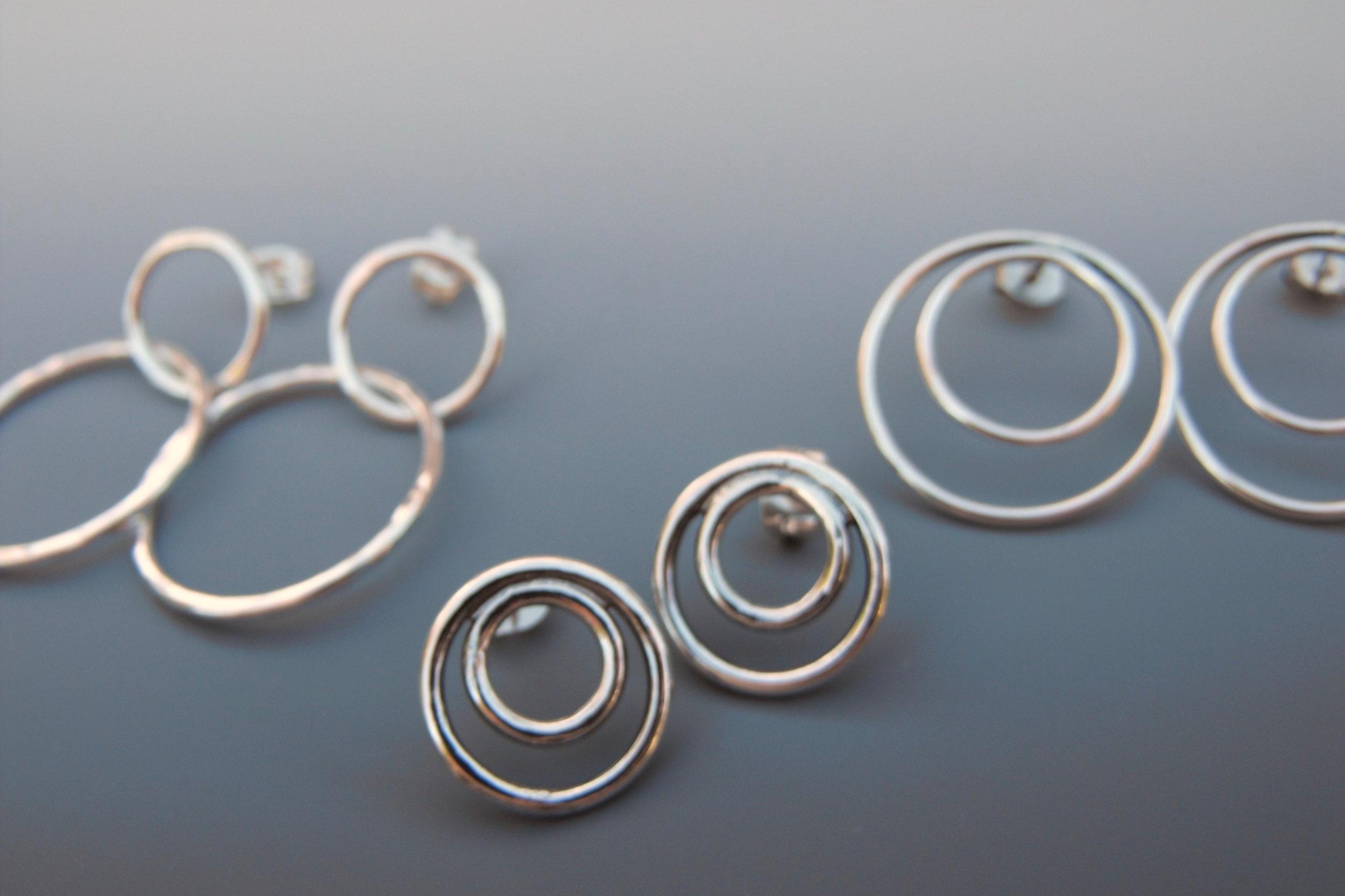 sterling+silver+hoop+earrings