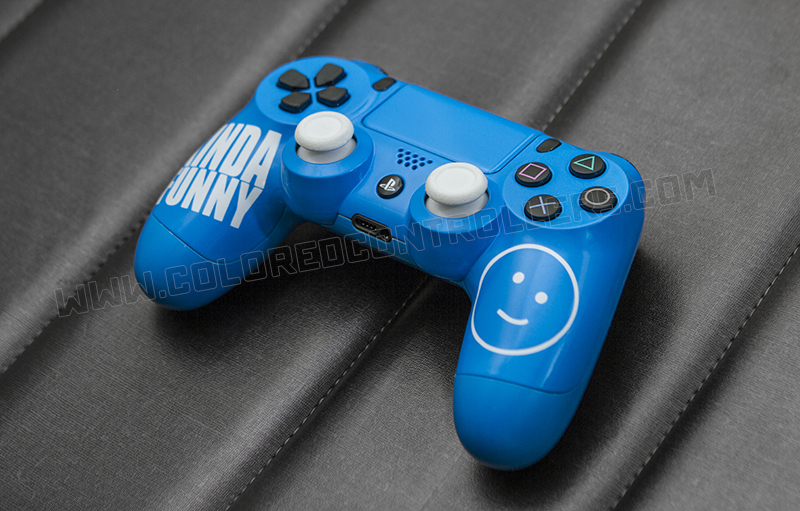 Kinda Funny custom ps4 controller @coloredcontrollers