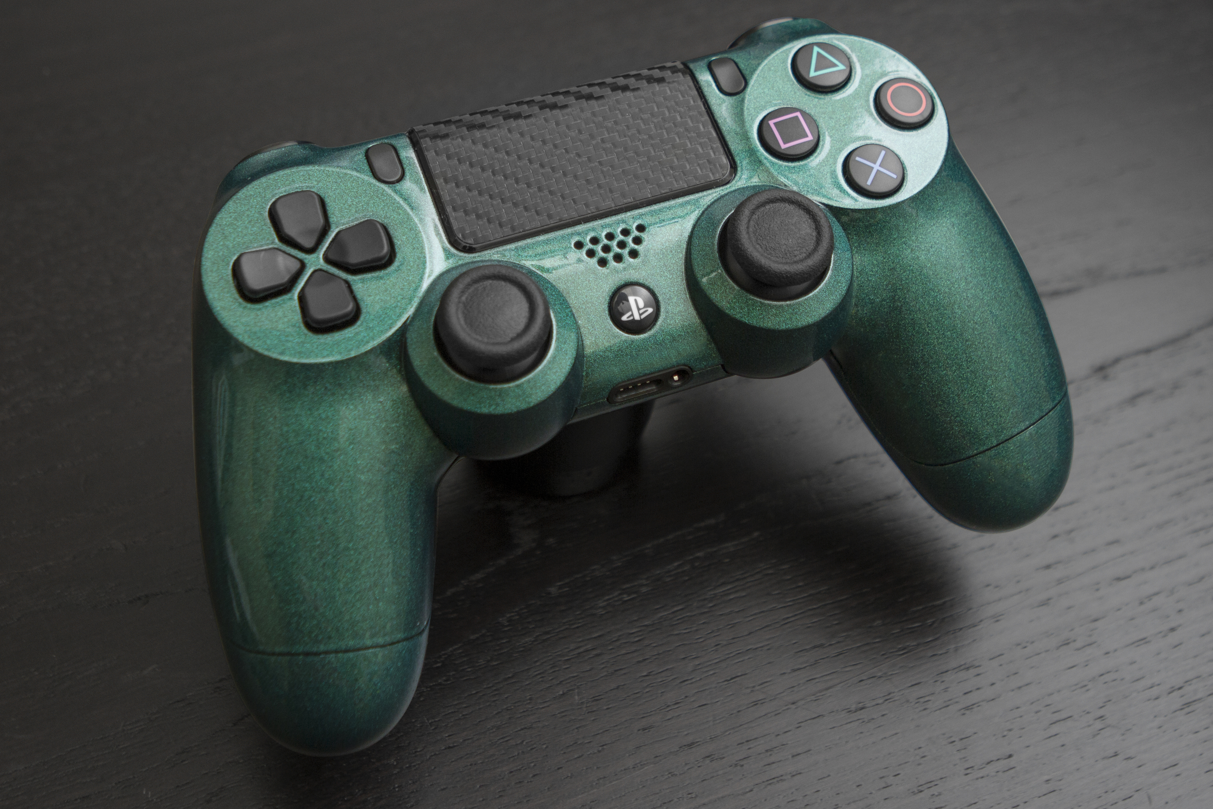 Lizard Green PS4 Controller