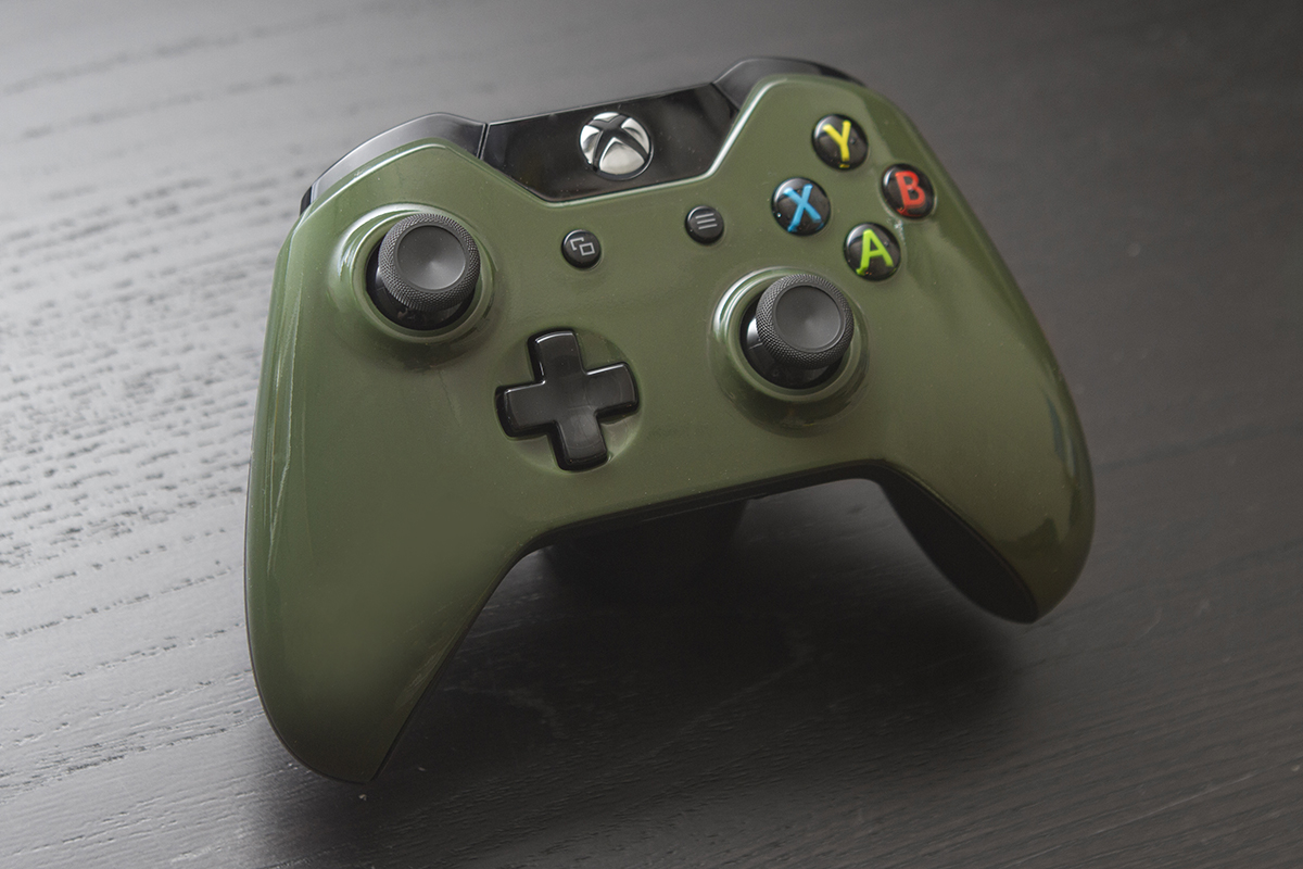 Hunter Green Xbox One Controller