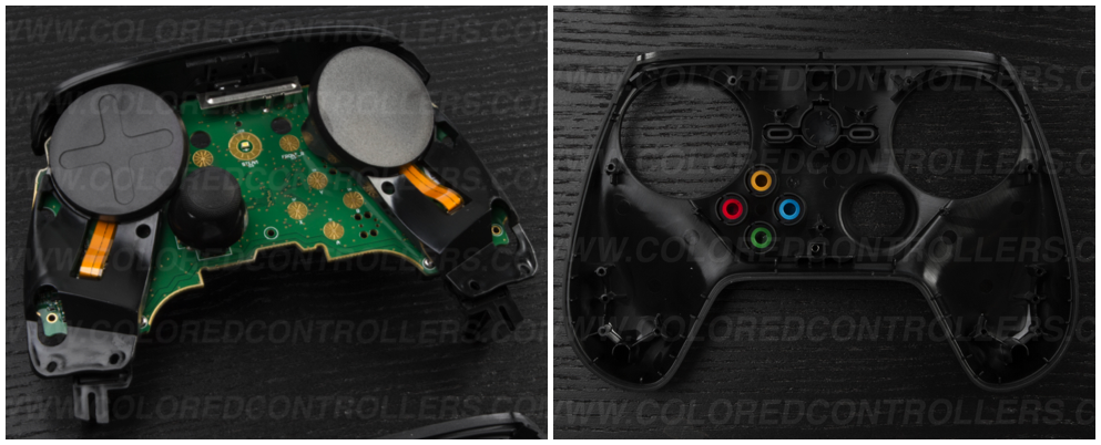 After this step you will now have access to the buttons on the front of the controller.