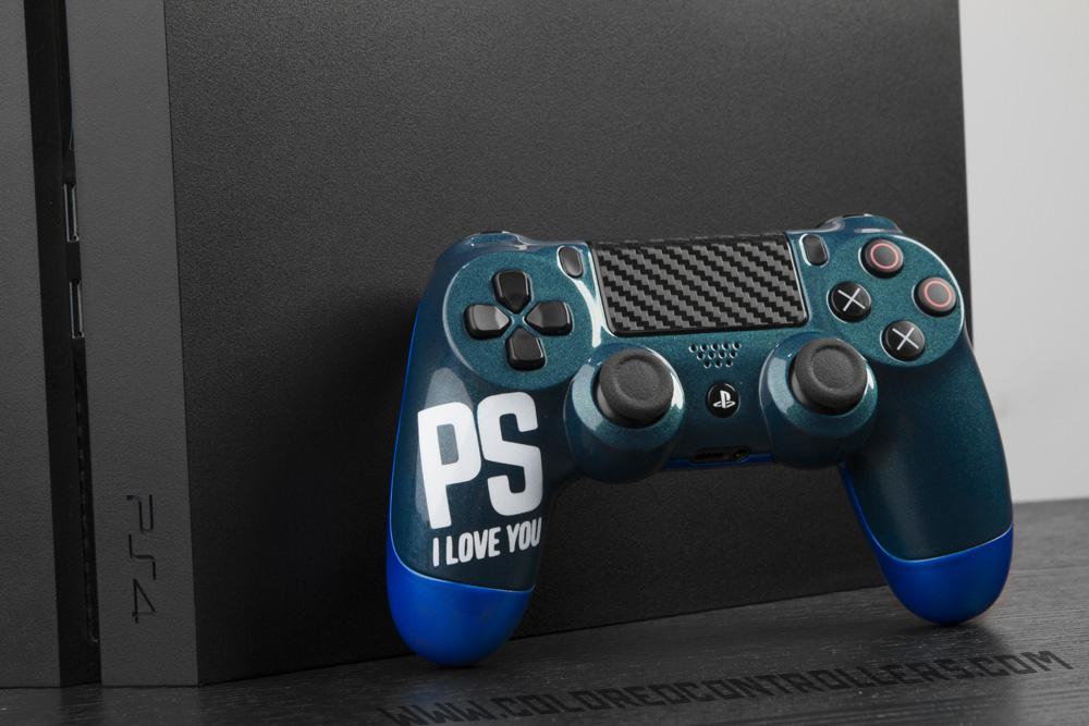 Custom PS I LOVE YOU kinda funny ps4 controller