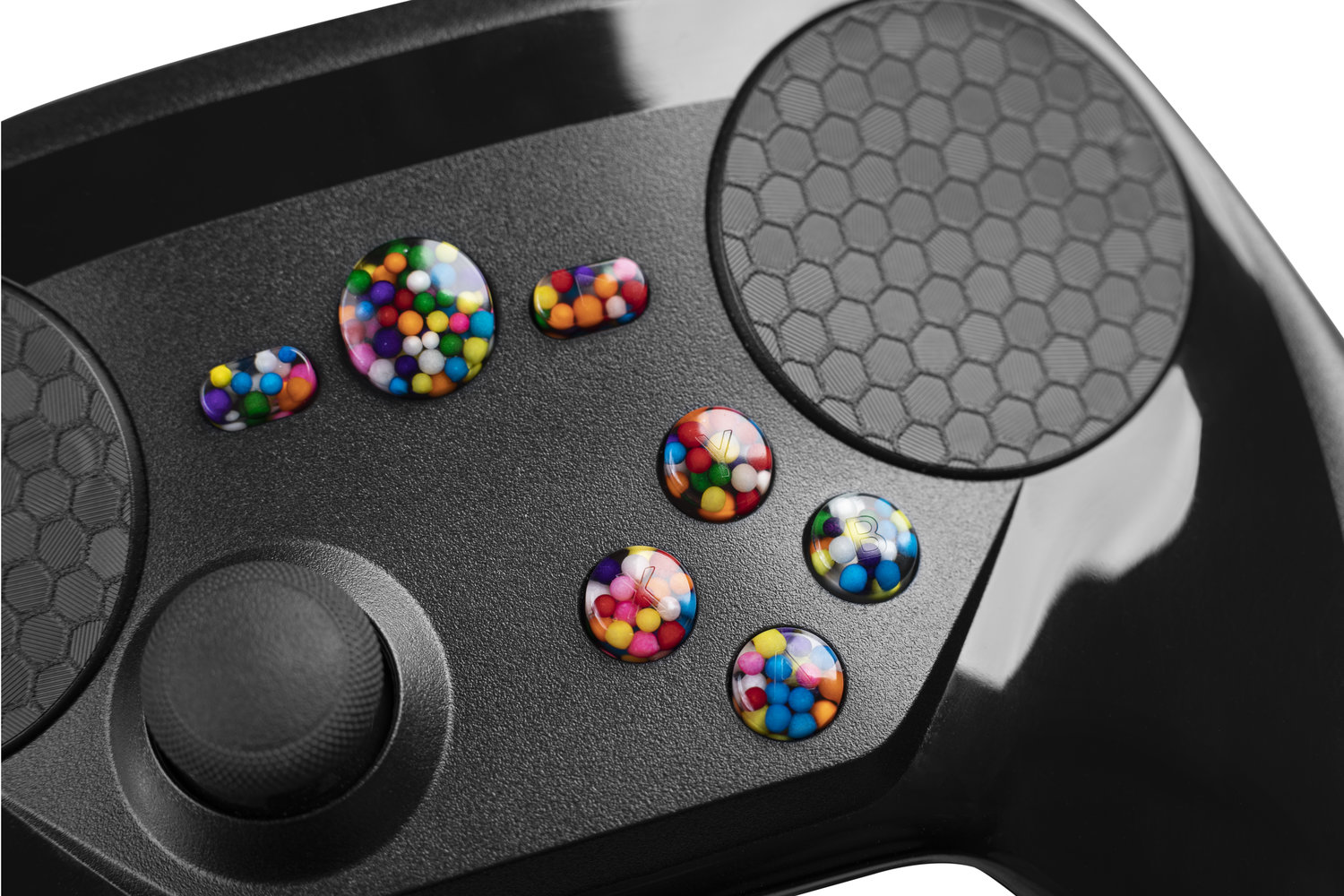 The world's ONLY Custom Buttons for the Steam Controller