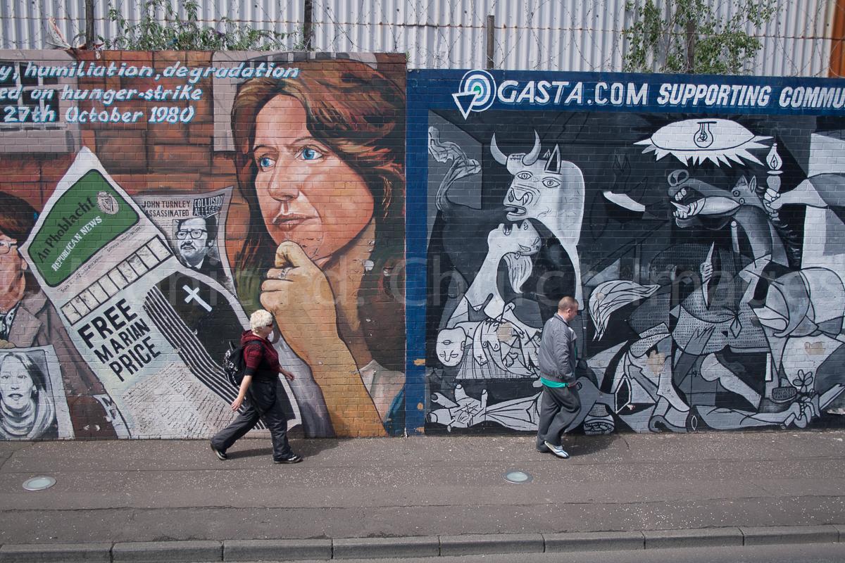 Divis Street, West Belfast, Northern Ireland, 2012