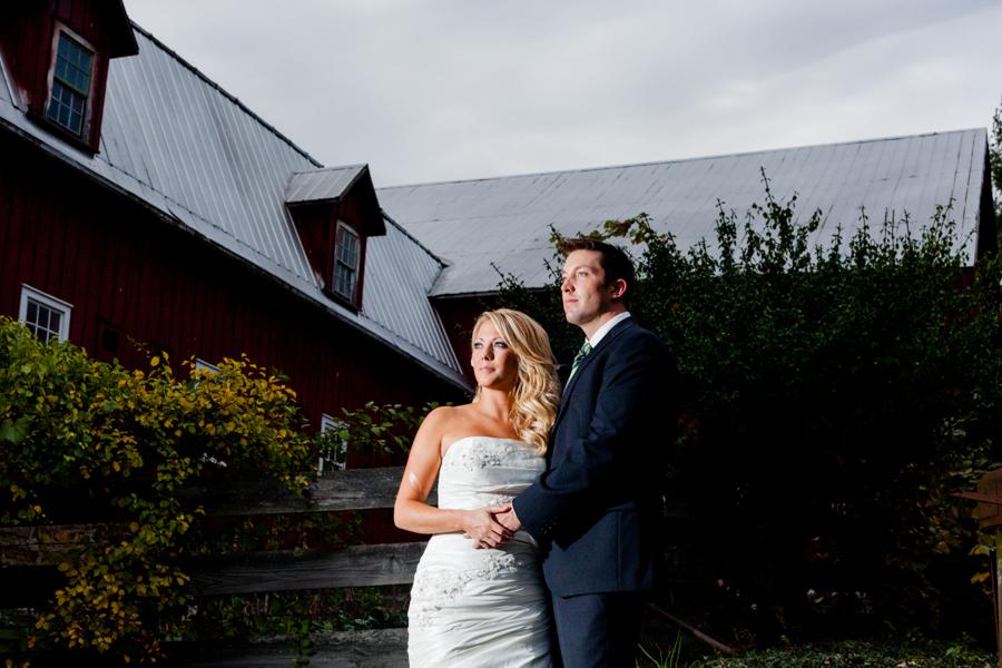 Bride-Groom-Barn-Dramatic