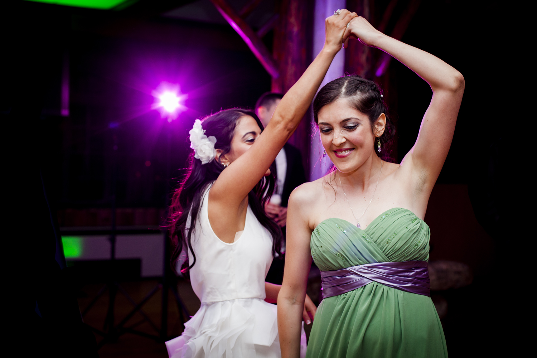 Reception dancing photo