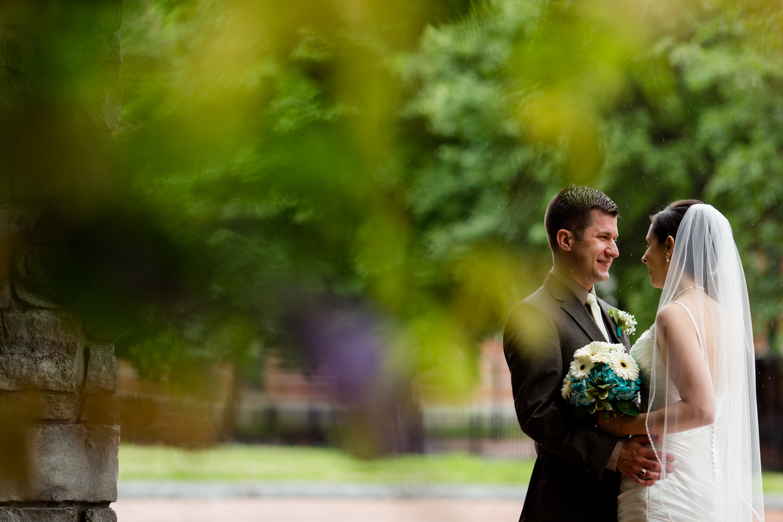 Wedding photos in Franklin Square, Syracuse NY.