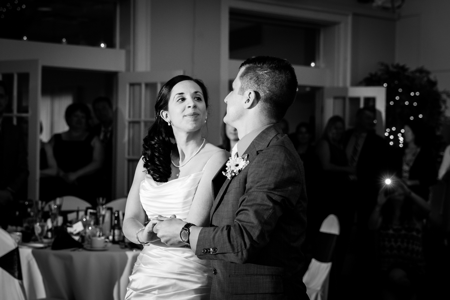 First dance at Bellevue Country Club