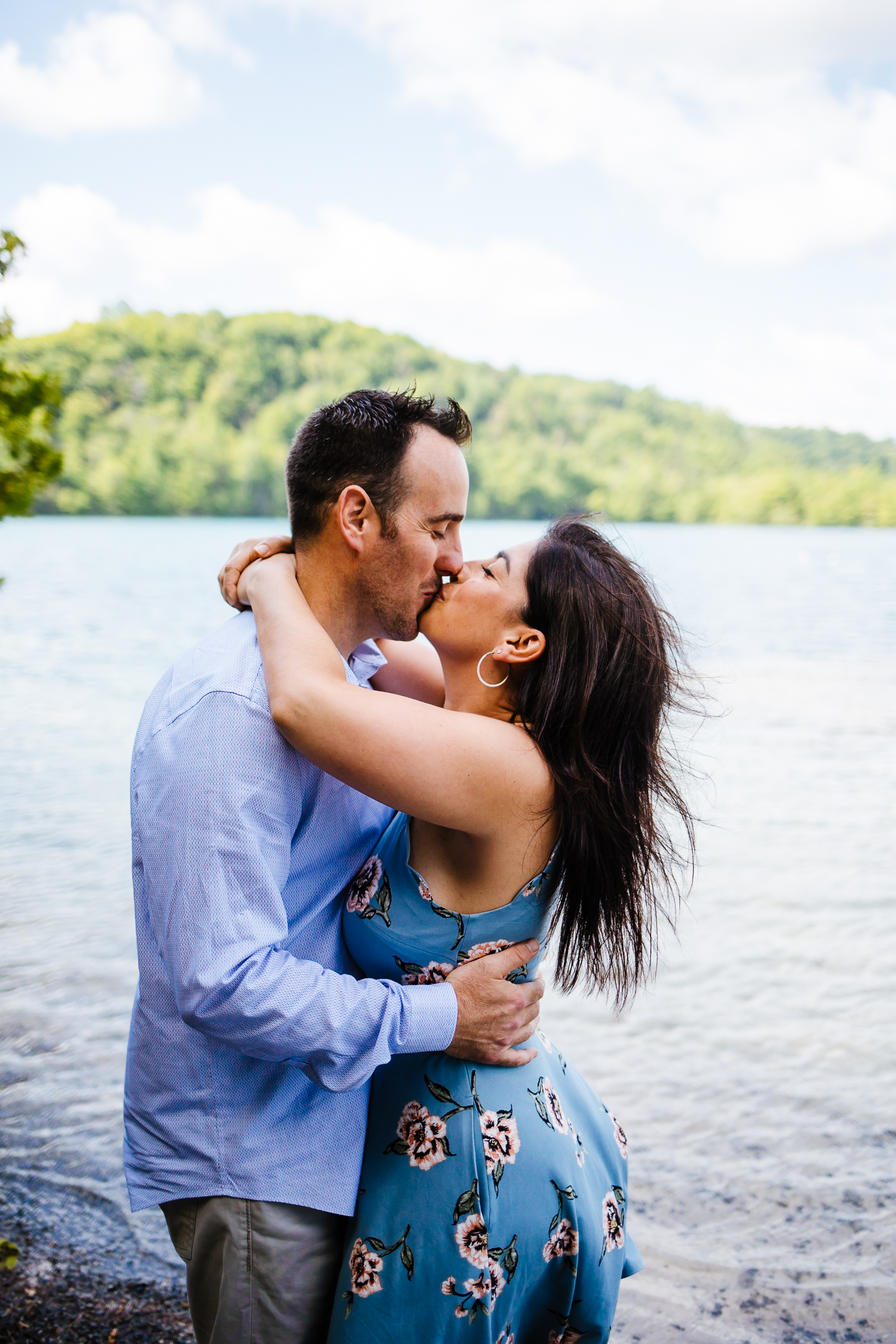 Syracuse NY engagement photographer, Syracuse ny engagement photography, Syracuse NY engagement photos, engagement session in syracuse NY, Green Lakes engagement session, green lakes engagement photos, photos at green lakes, engagement session at green lakes, engagement inspo, couple, romance, outdoor engagement session, summer engagement session, lakeside engagement session, engagement session at the beach, engagement session in the woods, portrait session, unique engagement session